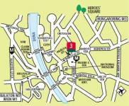 Hotel Ibis City - map - Budapest Hotel Ibis City