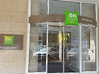 Entrace of Hotel Ibis Styles Budapest Center - elegant hotel in the centre of Budapest